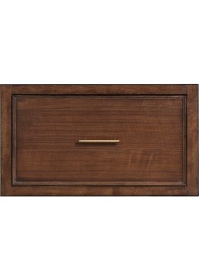 Bassett Storeroom Modular File Drawer Unit in Danish Walnut/Heartwood Pine Finish (6556-0217)