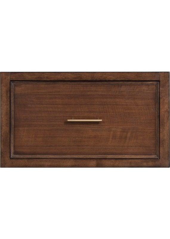 Bassett Storeroom Modular File Drawer Unit in Danish Walnut/Heartwood Pine Finish (6556-0217)