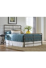Largo Mia King Complete Bed in Antique Gold (1630KHF)