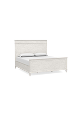 Bassett Verona King Panel Headboard in Dover White (2934-H169)