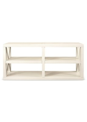 Axis Entertainment Console (White Enamel)