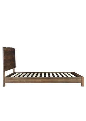 Style N Living Elvin Live Edge Queen Complete Bed