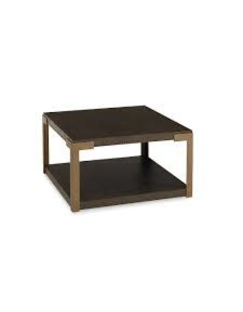 Bassett MODERN Norman Bunching Cocktail Table in Lyon Brown (6523-0625)