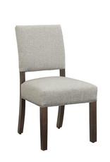 Vaughan Bassett Vaughan Bassett Artisan & Post Simply Dining Upholstered Side Chair in Dark Maple (220-031)