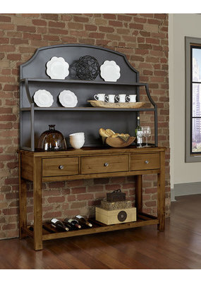 Vaughan Bassett Simply Dining Metal Hutch