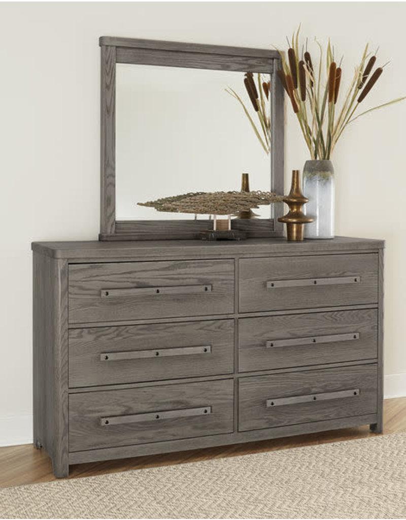 Vaughan Bassett Vaughan Bassett Artisan & Post Latitudes 6 Drawer Dresser in Ash Grey (250-003)