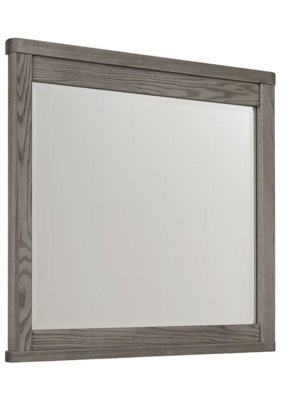 Vaughan Bassett Latitudes Landscape Mirror (Ash Grey)