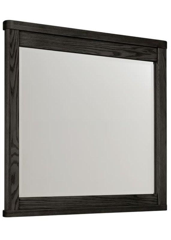 Vaughan Bassett Latitudes Landscape Mirror (Ebony)