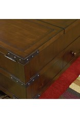 Hammary Hidden Treasures Trunk Cocktail Table w/ Storage (090-394)