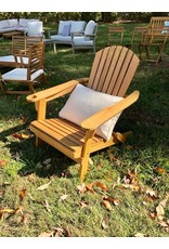 Hoang Hung Co. Outdoor Acacia Reclining Adirondack Chair