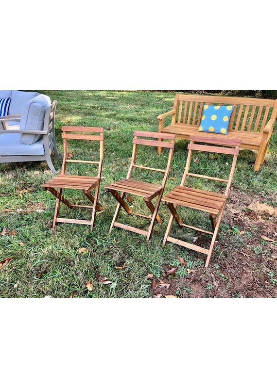 Acacia Outdoor Folding Chair