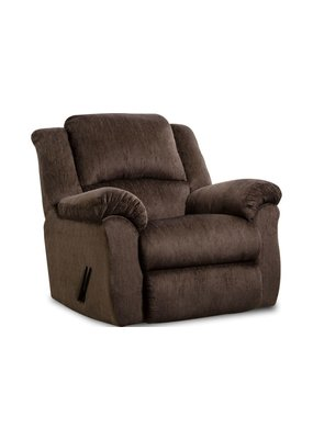 Preston Manual Recliner (Chocolate)