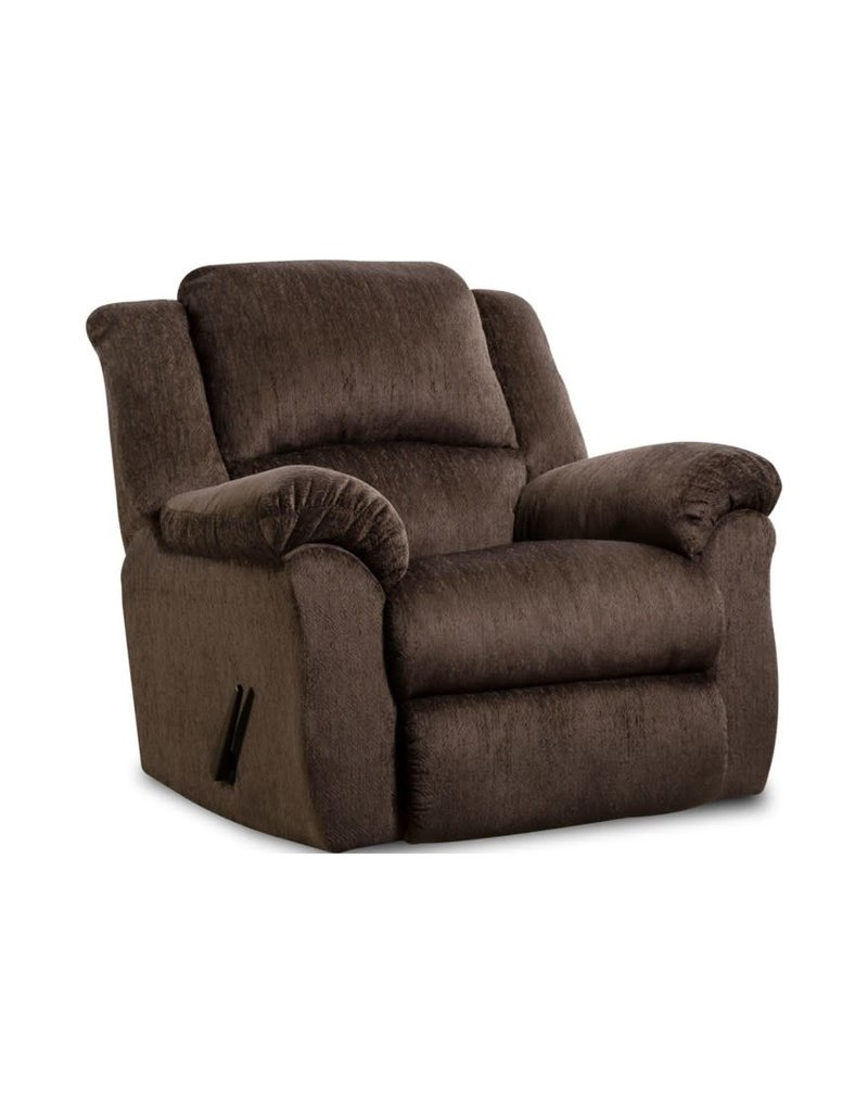 HomeStretch Preston Manual Recliner in Chocolate (173-91-21)