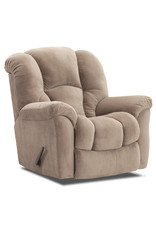 HomeStretch Large Scale Manual Rocker Recliner in Golden Tan (116-91-16)