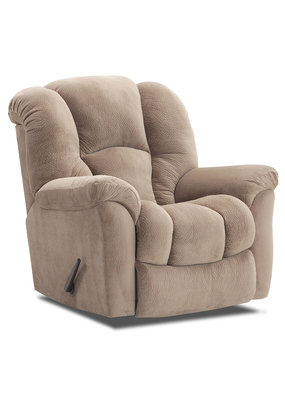 Large Scale Manual Rocker Recliner (Golden Tan )