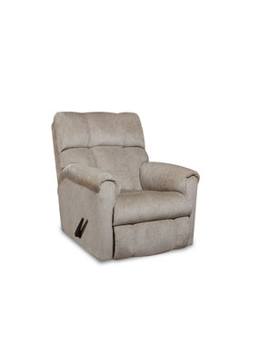 Manual Rocker Recliner (Beige)