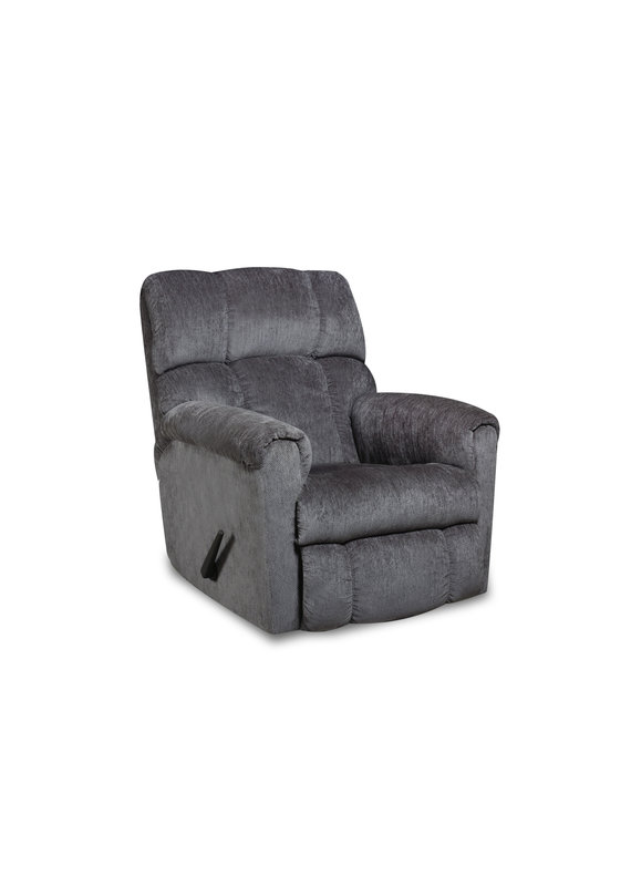 Manual Rocker Recliner (Gray)