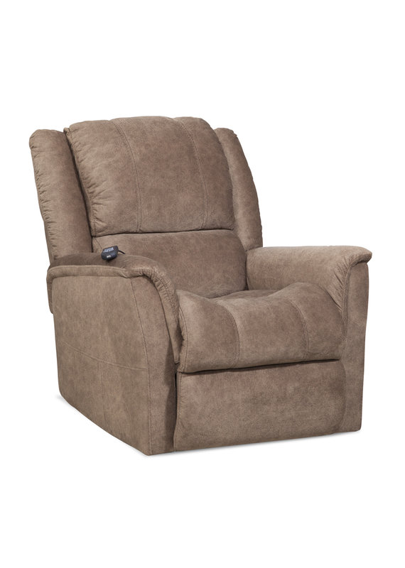 Microfiber Manual Rocker Recliner (Tan)