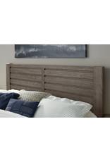 Vaughan Bassett Vaughan Bassett Highlands Horizontal Plank Headboard in Smoke Grey  (131-559)