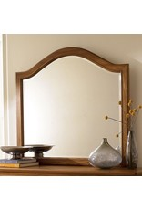 American Drew American Drew Ashby Park Landscape Mirror in Nutmeg (901-040N)