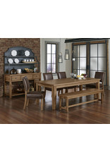 Vaughan Bassett Vaughan Bassett Artisan & Post Simply Dining Server & Hutch in Natural Maple (224-960,961)