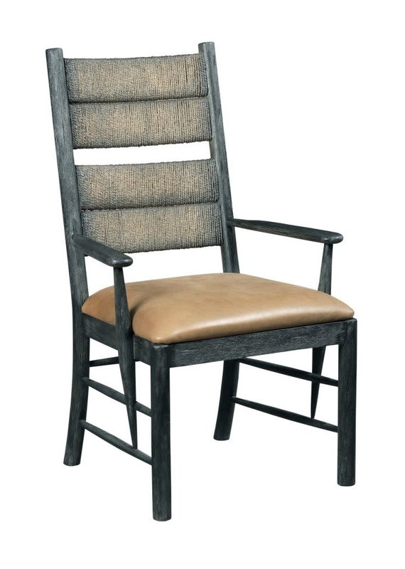 Kincaid Cypress Arm Chair (Charcoal)