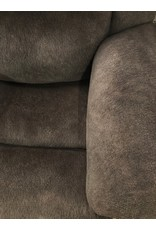 HomeStretch Holey Chocolate Double Power Rocker Recliner (184-96-21)