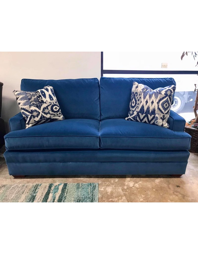 Kincaid Kincaid Custom Select Small Sofa  in Talbott Lapis (176-63)