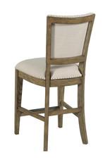 Kincaid Kincaid Plank Road Kimler Counter Height Chair in Stone (706-691S)