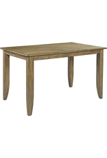 """Kincaid Kincaid The Nook 60"""" Counter Height Dining Table in Brushed Oak (663-762)"""