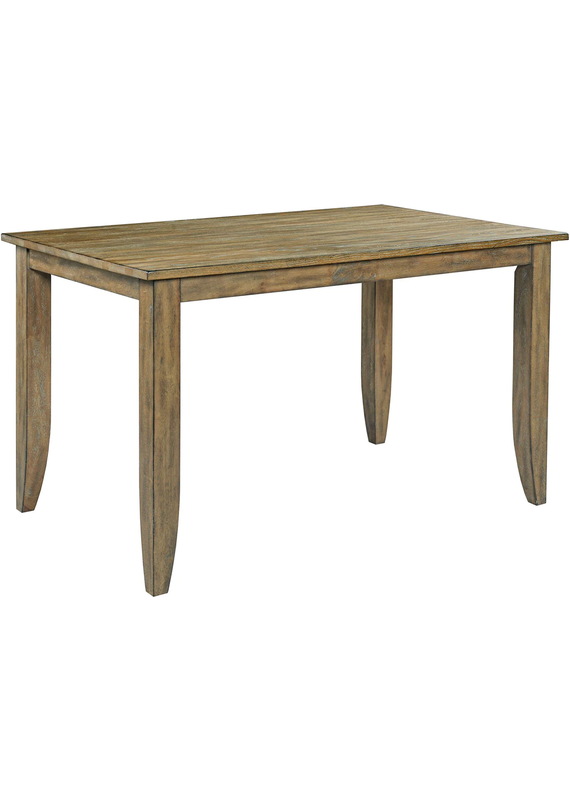 "Kincaid The Nook 60"" Counter Height Dining Table (Brushed Oak)"