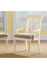 American Drew American Drew Camden Upholstered Arm Chair in Buttermilk (920-637)