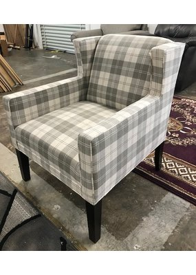 Kincaid Marin Chair (Grey Plaid)