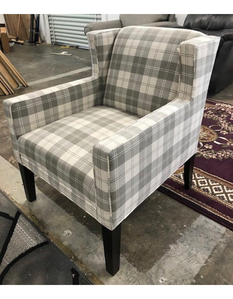 Kincaid Kincaid Marin Chair in Grey Plaid