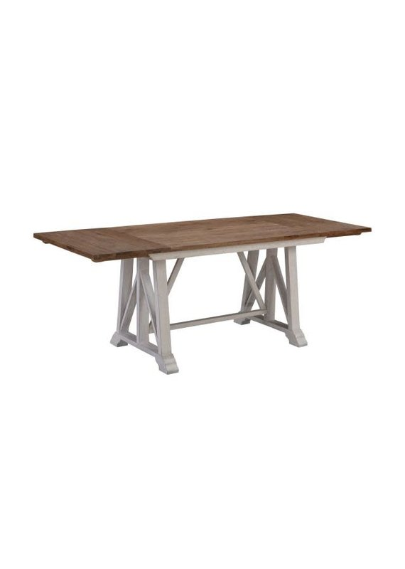 A-America McMillan Gathering Height Trestle Dining Table