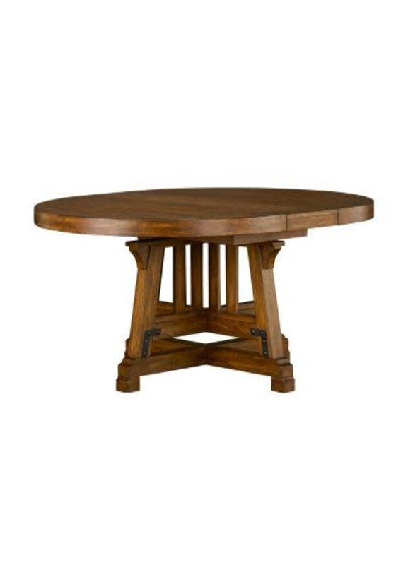 "A-America Wolf Creek 48"" Round Dining Table"
