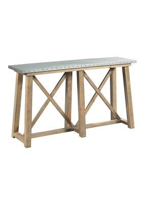 Hammary Junction Truss Sofa Table