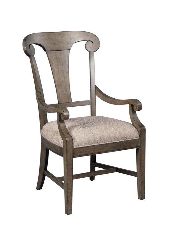 Kincaid Fulton Splat Back Arm Chair