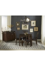 A-America A-America Brooklyn Heights Square Leg Dining Table w/Butterfly Leaf in Warm Gray(BRH-WG-6-27-0)