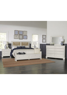 Vaughan Bassett Scotsman Seagrass King Bedroom Set (Cream)