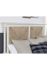 Vaughan Bassett Vaughan Bassett LM Co. Scotsman (Cream) Seagrass King Bedroom Set (184-667, 068, 933, 228, 116, 004, 227, 446, MS2)