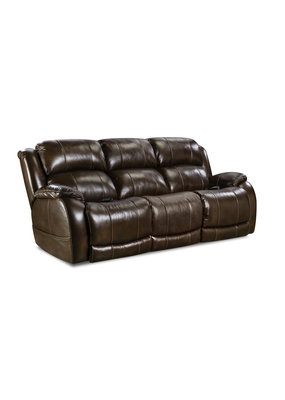 HomeStretch Power Double Reclining Sofa