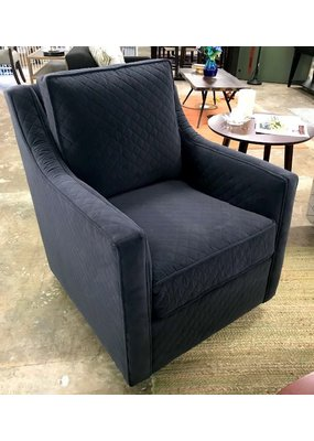 Oakley Swivel Glider Chair (Coco Gunmetal)