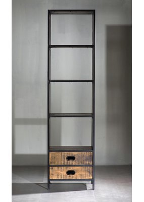 "Milano 2 Drawer 22"" Bookshelf"