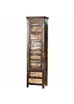Reclaim Wooden Tower Cabinet