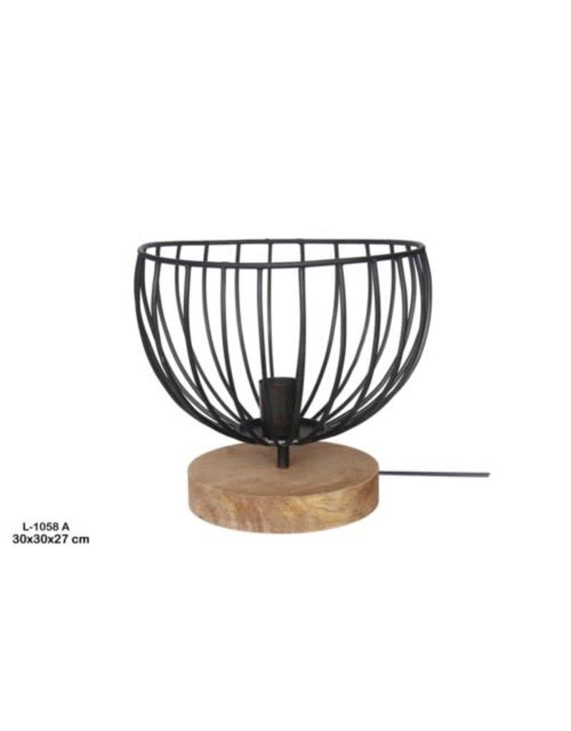 Villa 2 Caged Table Lamp (32187412)