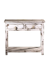 Villa 2 -  2 Drawer Accent Table in Antique White (70110072)