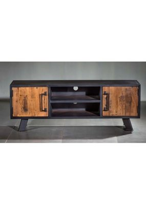 Roma Double Shelf TV Console