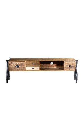 Industrial Mosaic Media Console