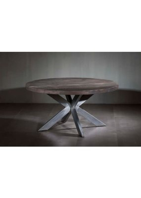 Gray Barn Round Dining Table X Base